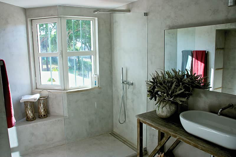 Microcement coating bathrooms, Vilamoura #8