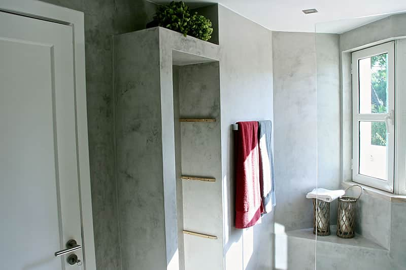 Microcement coating bathrooms, Vilamoura #9