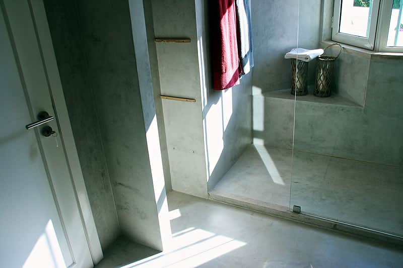 Microcement coating bathrooms, Vilamoura #10