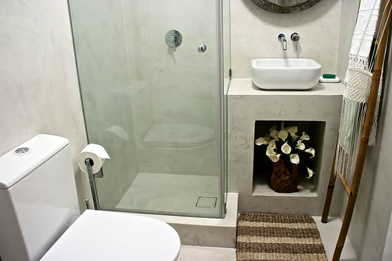 Microcement coating bathrooms, Vilamoura #12