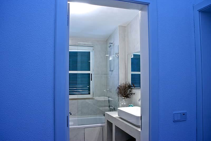 Microcement coating bathrooms, Vilamoura #5