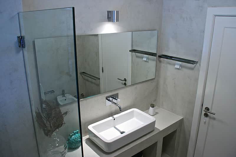 Microcement coating bathrooms, Vilamoura