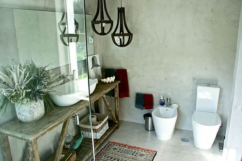 Microcement coating bathrooms, Vilamoura #7